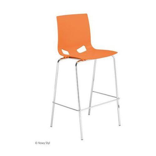 Nowy styl Krzesło fondo pp hocker chrome