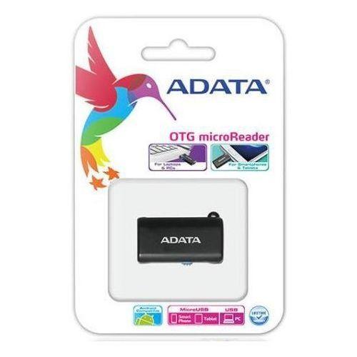 Czytnik ADATA USB OTG, Microsd Czarny (AOTGMRBK) Darmowy odbiór w 21 miastach! (4712366962644)