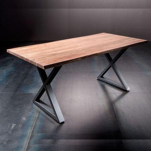 Stół catania obrzeża ciosane natur, 200x100 cm grubość 5,5 cm marki Fato luxmeble