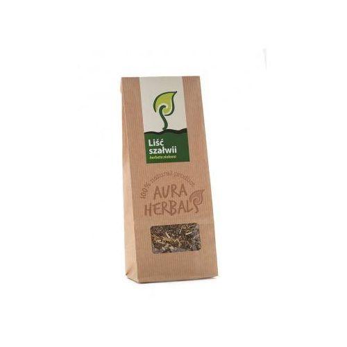 Aura herbals Liść szałwii - szałwia herbata ziołowa (100 g)  (5901549658897)