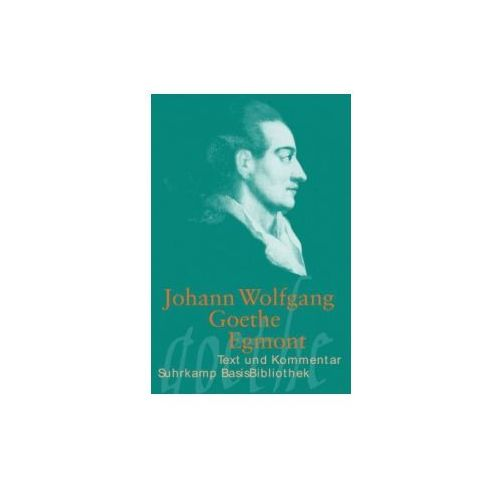 Johann W. von Goethe, Helmut Nobis - Egmont (9783518189276)