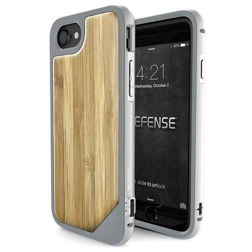 X-Doria Defense Lux Wood - Etui iPhone 7 z anodyzowanego aluminium i drewna (Bamboo), 455633