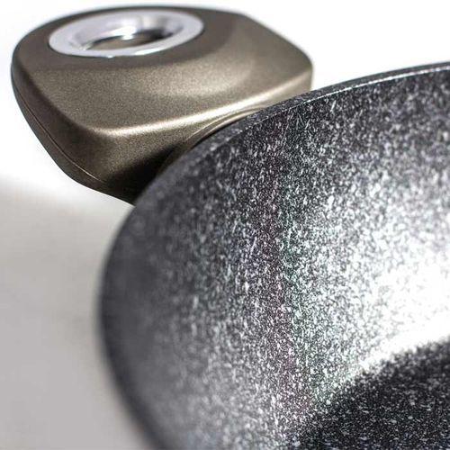Berlinger haus Komplet garnków metalic line carbon 15 elementów [bh-1223n] (5999056765900)
