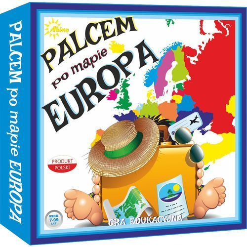Abino joanna urbańska Palcem po mapie - europa