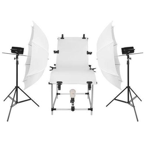 FreePower Stół bezcieniowy 2x100Ws do fotografii produktowej - produkt z kategorii- Sprzęt bezcieniowy
