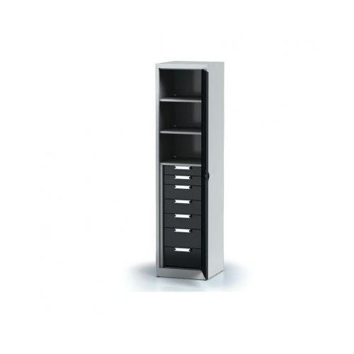 Szafa warsztatowa - 3 półki, 7 szuflad marki Alfa 3