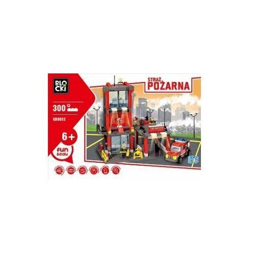 OKAZJA - Klocki blocki straż pożarna remiza mała 300 elementów marki Icom