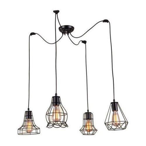 Lampa Imperia Loft Vintage Pająk czarna