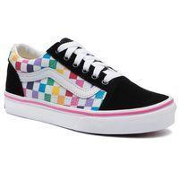 Tenisówki VANS - Old Skool VN0A4BUUU091 (Checkerboard) Rainbow/Tr, kolor wielokolorowy