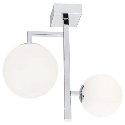 Argon Aspen 802 lampa podłogowa 2x15W E27 chrom, kolor Biały