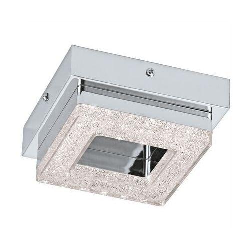 Plafon Eglo Fradelo 95655 lampa sufitowa ścienna 1x4W LED chrom/kryształ >>> RABATUJEMY do 20% KAŻDE zamówienie!!! (9002759956554)