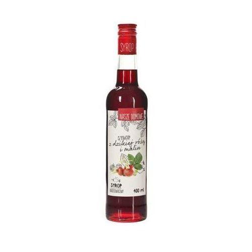 PREMIUM ROSA 400ml Nasze domowe Syrop z dzikiej róży i malin