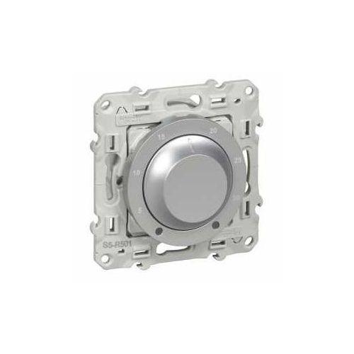Termostat elektroniczny obrotowy odace s530501 aluminium marki Schneider