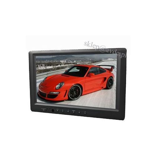 "669 nt monitor samochodowy lcd 7"" cali hdmi dvi vga marki Neway"