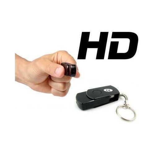 Szpiegowski pendrive, nagrywający obraz/dźwięk hd + aparat foto + brelok... marki Spy
