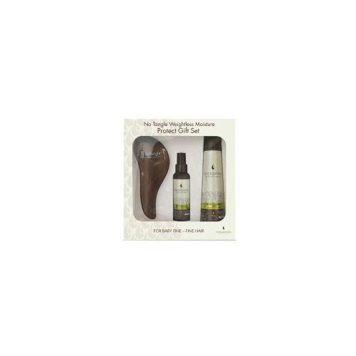 weightless moisture, zestaw do pielęgnacji cienkich włosów marki Macadamia