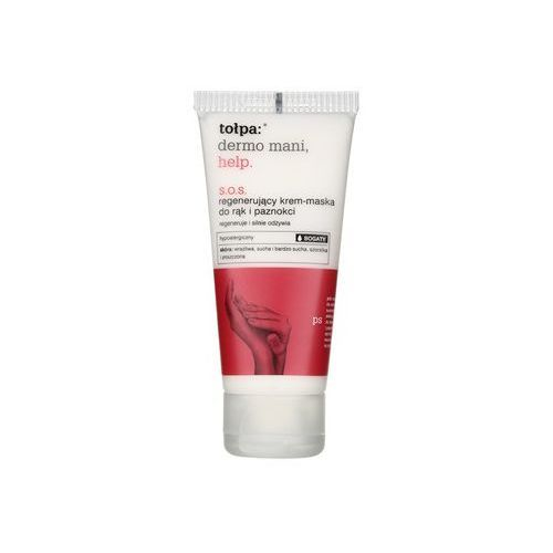 dermo mani help sos krem- maska regeneracyjny do rąk i paznokci (hypoallergenic) 60 ml marki Tołpa