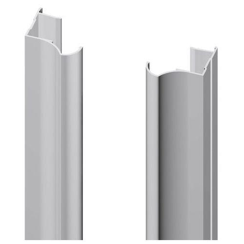Rączka 18 mm Valcomp anoda srebrna 2700 mm