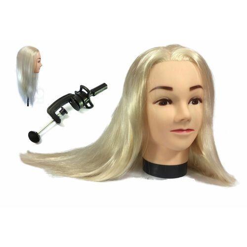 Główka głowa fryzjerska treningowa aneta 55 cm b marki Calissimo