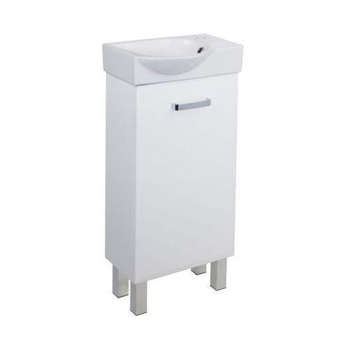Zestaw mebli łazienkowych z umywalką storm 40 deftrans marki Sensea