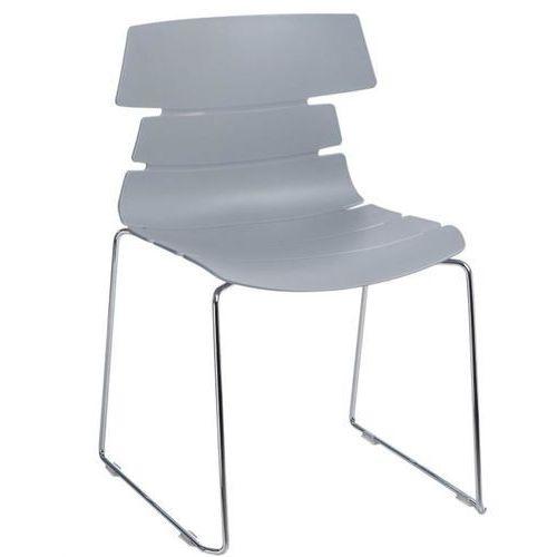 D2.design Krzesło techno sl pp szare - szary