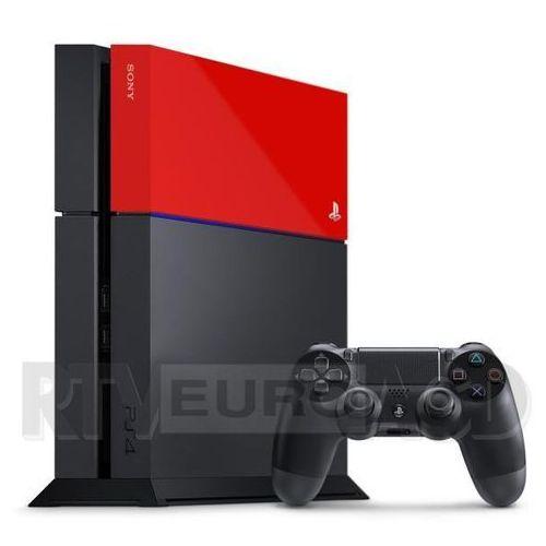 Pokrywa SONY do konsoli PS4 - Red