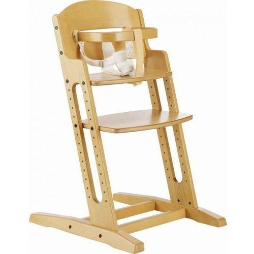 Krzesełko do karmienia  danchair naturalne marki Baby dan