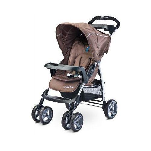 Caretero MONACO wózek dziecięcy spacerowy NOWOŚĆ 2016 brown - sprawdź w wybranym sklepie
