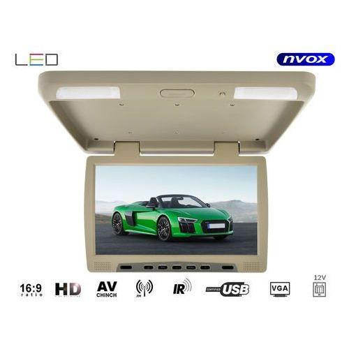 "NVOX RF1590U BE Monitor podwieszany podsufitowy LCD 15"" cali LED IR FM USB SD (5909182422646)"