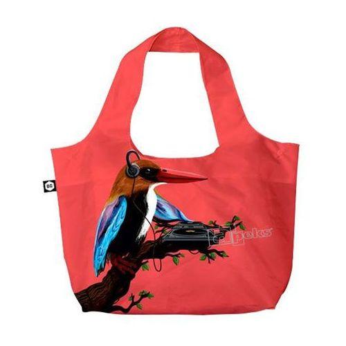 BG Berlin Eco Bags Eco torba na zakupy 3w1 / Tropical Sound Red - Tropical Sound Red