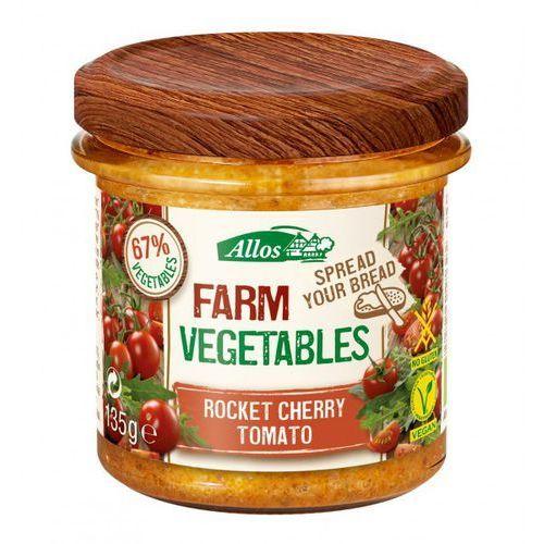 Allos Pasta warzywna z pomidorami cherry i rukolą bio 135 g -