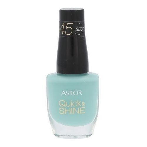Astor Quick & Shine Nail Polish 8ml W Lakier do paznokci 609 Splash Of The Ocean