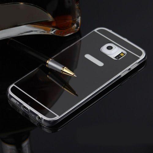 Slim Mirror Case Czarny | Etui dla Samsung Galaxy S6 - Czarny