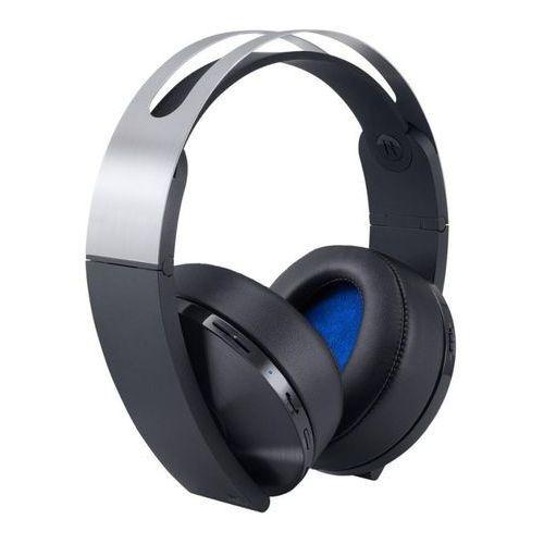 Słuchawki ps4 platinum wireless headset + zamów z dostawą jutro! + darmowy transport! marki Sony