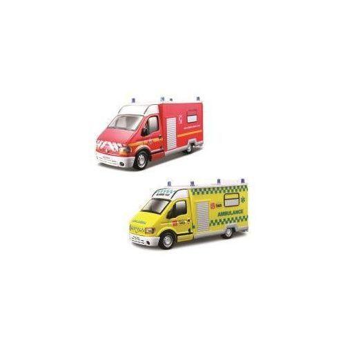 Bburago Renault master ambulans,różne rodzaje 1:50