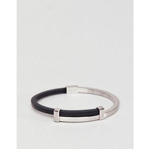 bracelet in stainless steel - black marki Emporio armani
