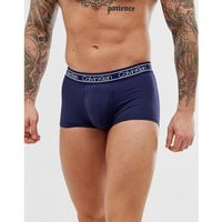 modern flx microfibre low rise trunks in navy - navy, Calvin klein, S-XL
