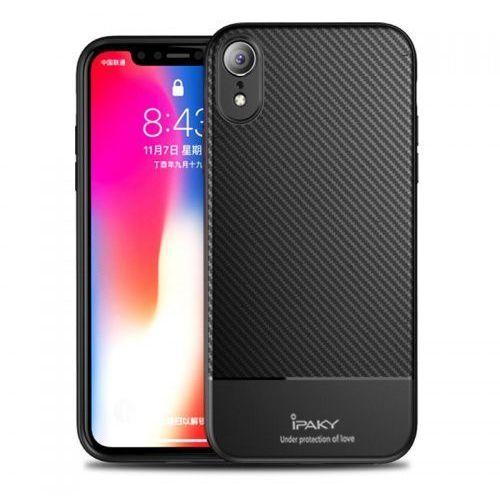 Etui iPaky Carbon Fiber iPhone XR Czarne, Ipaky_20181128165048