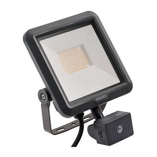 Philips oprawa lampa naświetlacz halogen z czujnikiem ruchu led ledinare bvp105 led25/840 psu vwb100 mdu 4000k ip65 27w 84883