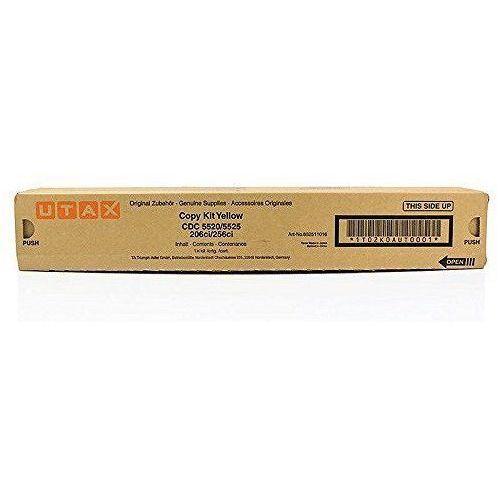 Utax oryginalny toner 652511016, yellow, 6000s, Utax CDC 5520, 5525