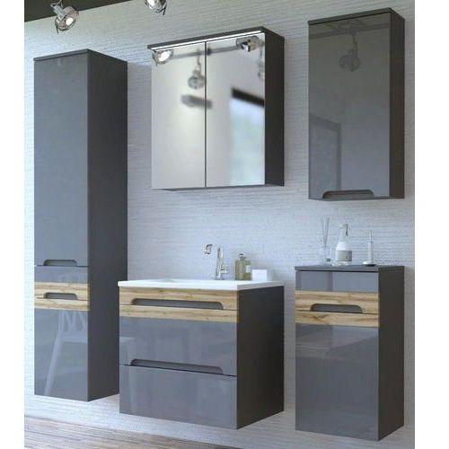 Zestaw mebli łazienkowych GALAXY GREY (800)SET 60 cm, CD-0237
