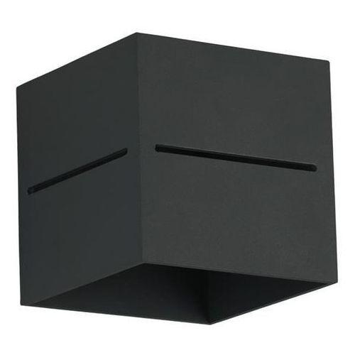 Kinkiet quado pro a czarny - czarny marki Lampex