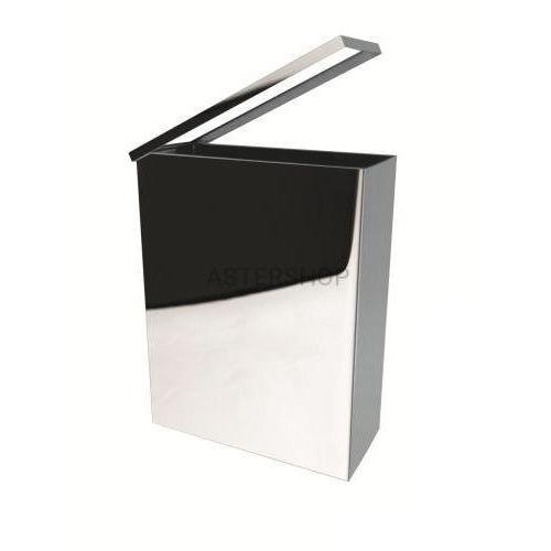 Kosz na śmieci 25l, wiszący, prostokątny, połysk 125115041 (8592207007712)