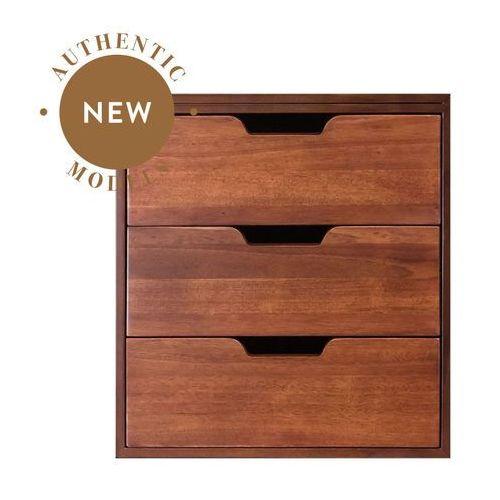 Authentic Models Kontenerek z 3 szufladami, otwarty, Miodowy MF239