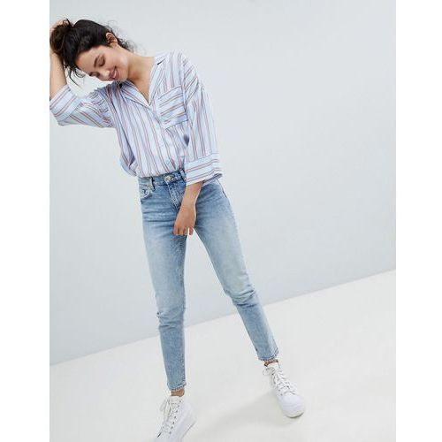 straight leg jeans - blue, Monki