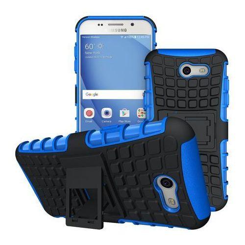 Perfect Armor Niebieski   Pancerna obudowa etui dla Samsung Galaxy J3 2017 - Niebieski (Futerał telefoniczny)
