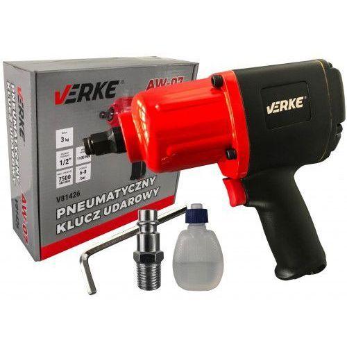 Klucz pneumatyczny udarowy 1/2 1100nm mocny marki Verke