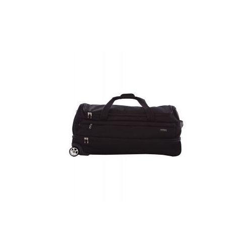 PUCCINI torba podróżna XL do ręki/ na ramię ze stelażem 2 koła z kolekcji NEW ROMA materiał poliester