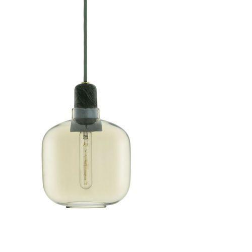 Normann copenhagen Lampa wisząca amp okrągła złotozielony (5712396001138)