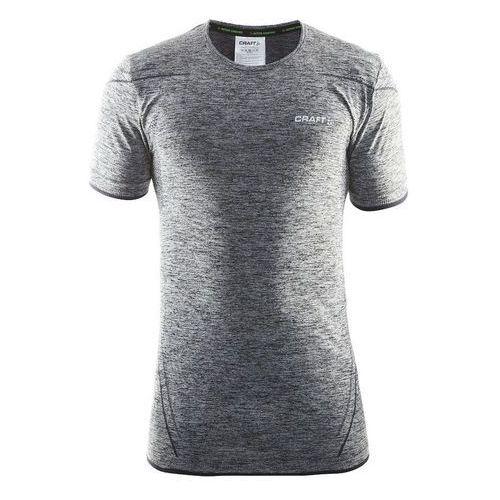 Craft koszulka męska Active Comfort SS szara/czarna XL